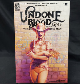 AFTERSHOCK COMICS UNDONE BY BLOOD #2 10 COPY LINSNER INCENTIVE VARIANT