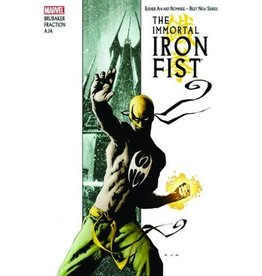 MARVEL COMICS IMMORTAL IRON FIST BY FRACTION & BRUBAKER OMNIBUS HC