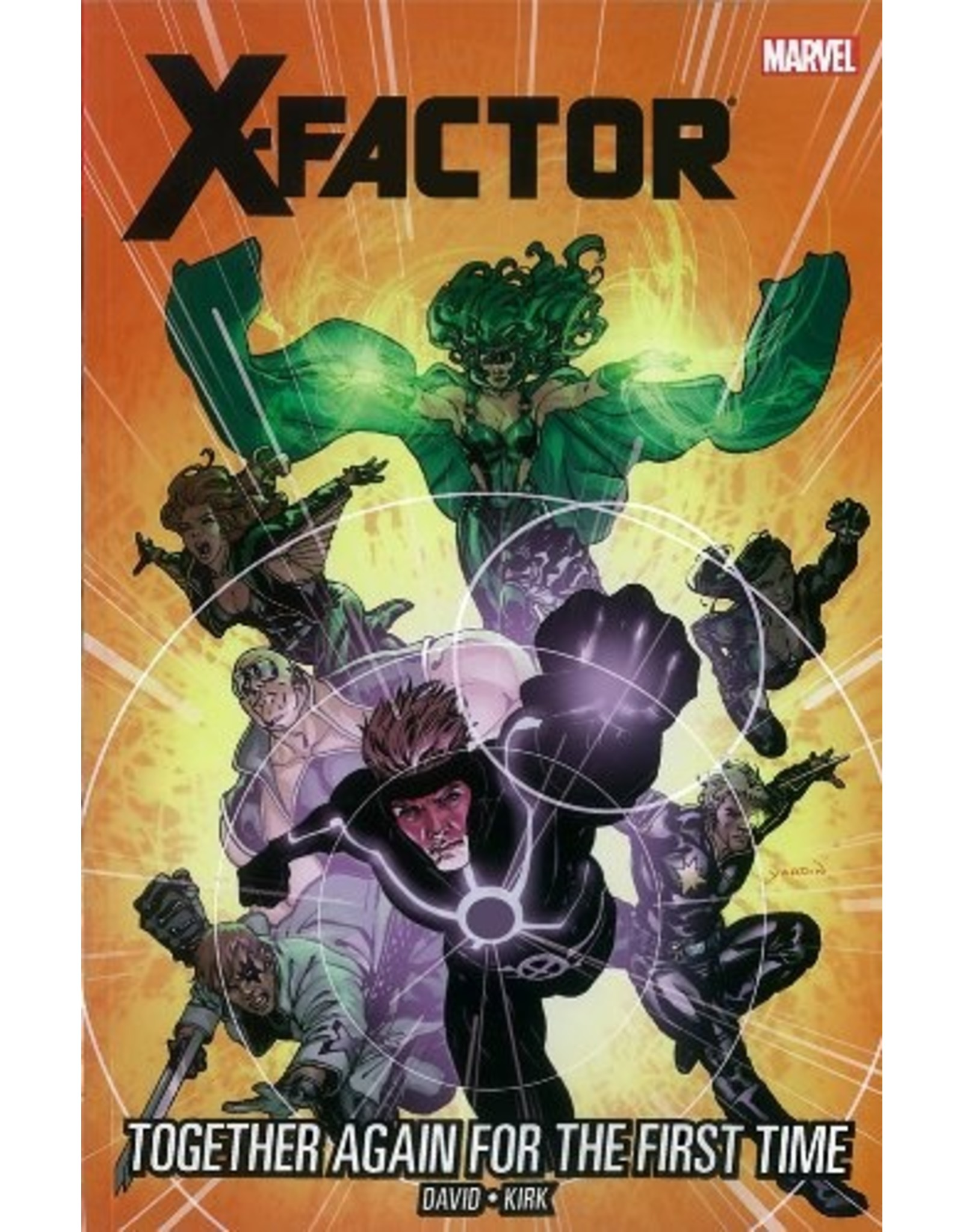 MARVEL COMICS X-FACTOR TP VOL 16 TOGETHER AGAIN FOR FIRST TIME