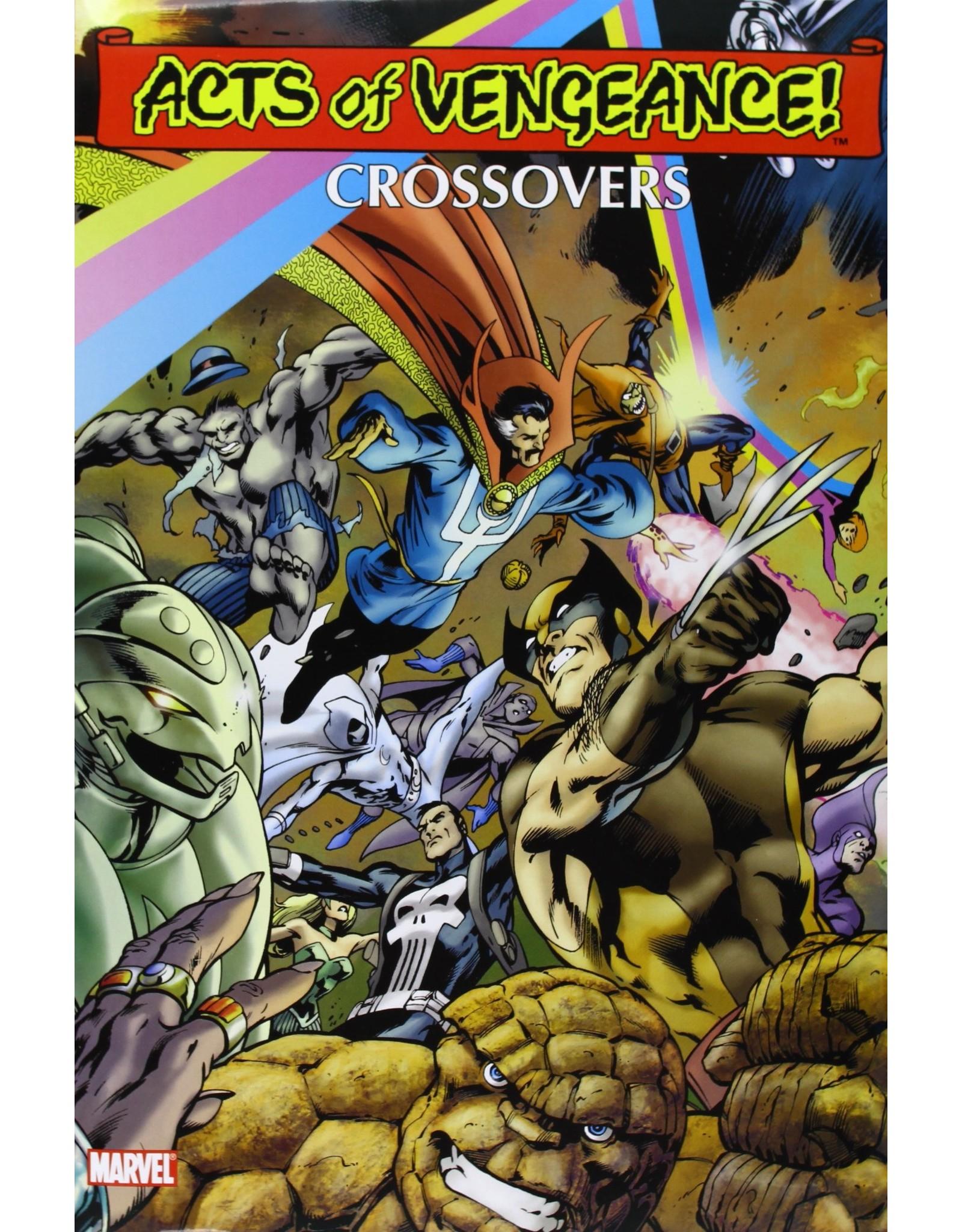 MARVEL COMICS ACTS OF VENGEANCE CROSSOVERS OMNIBUS HC DAVIS CVR (OOP SEALED)