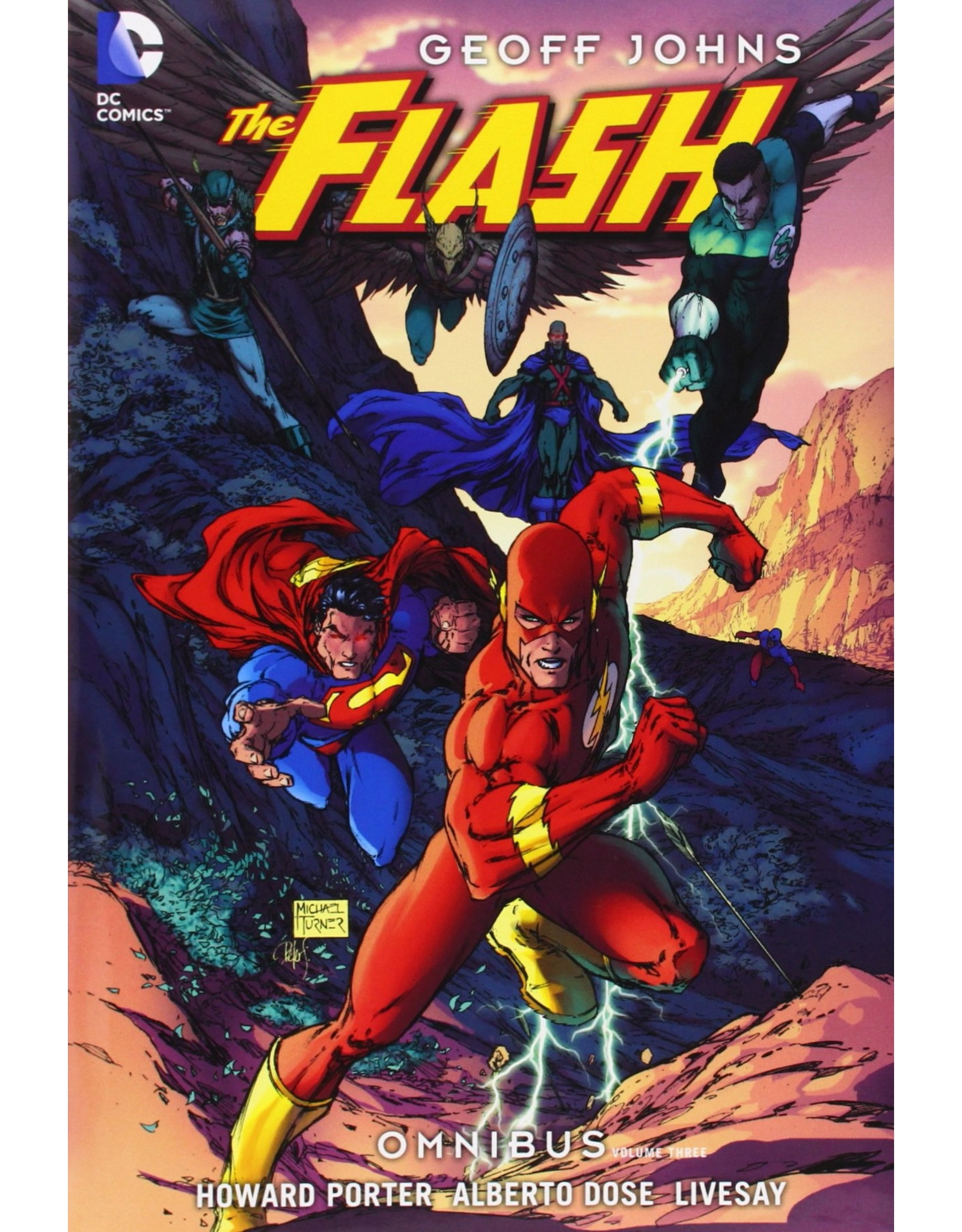 DC COMICS FLASH OMNIBUS BY GEOFF JOHNS HC #3 (OOP SEALED)