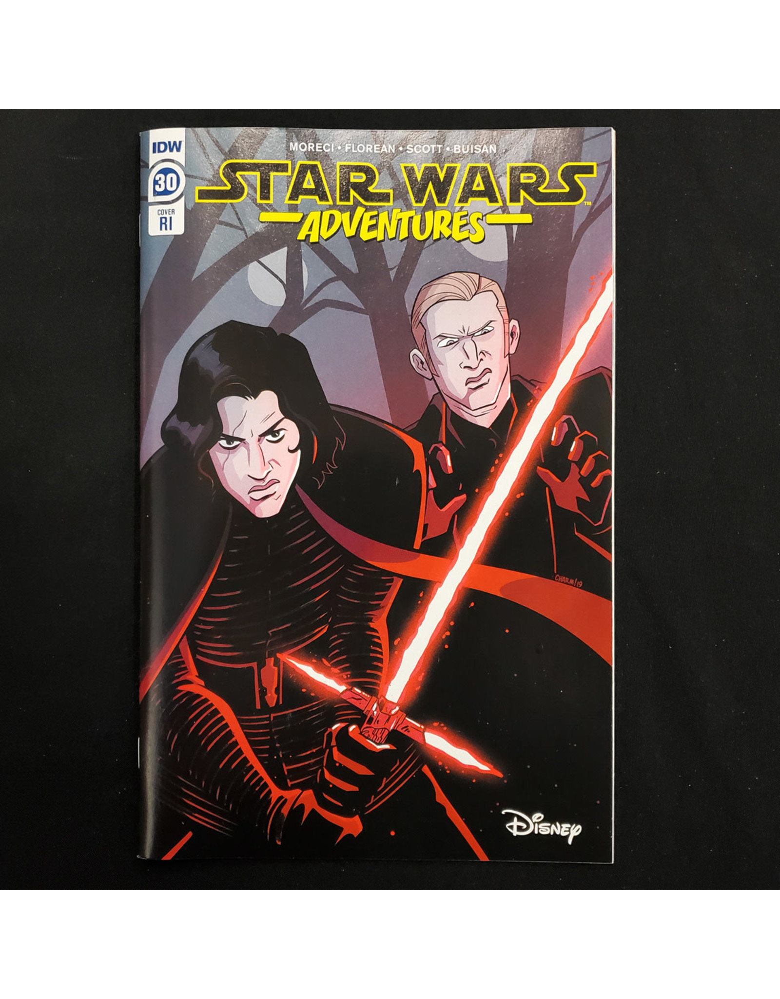 IDW PUBLISHING STAR WARS ADVENTURES #30 10 COPY INCENTIVE CHARM VARIANT