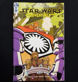 IDW PUBLISHING STAR WARS ADVENTURES #29 10 COPY INCENTIVE BRACCHI VARIANT