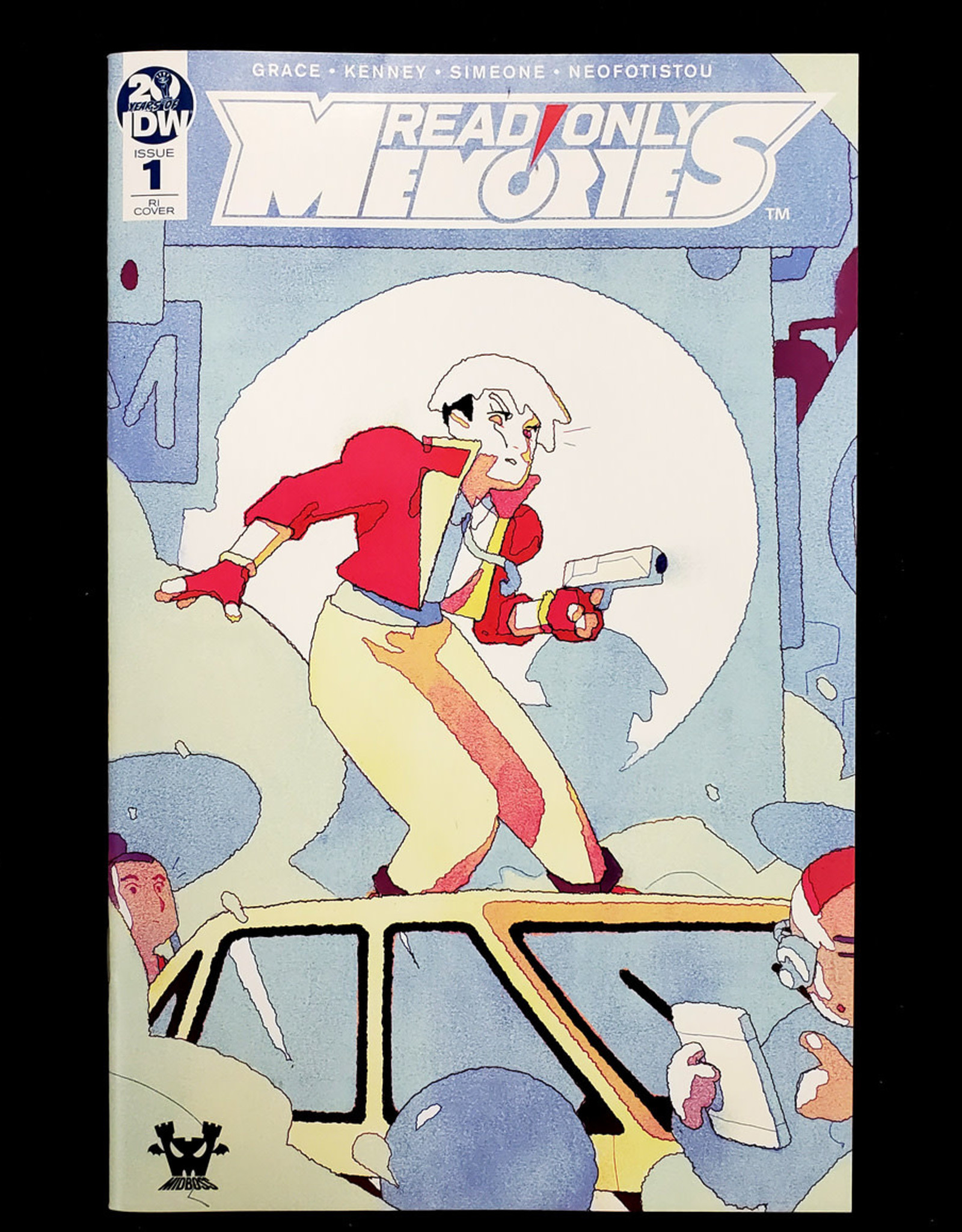 IDW PUBLISHING READ ONLY MEMORIES #1 10 COPY INCENTIVE SMART VARIANT