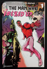 AFTERSHOCK COMICS MAN WHO EFFED UP TIME #1 15 COPY STROMAN INCENTIVE VARIANT