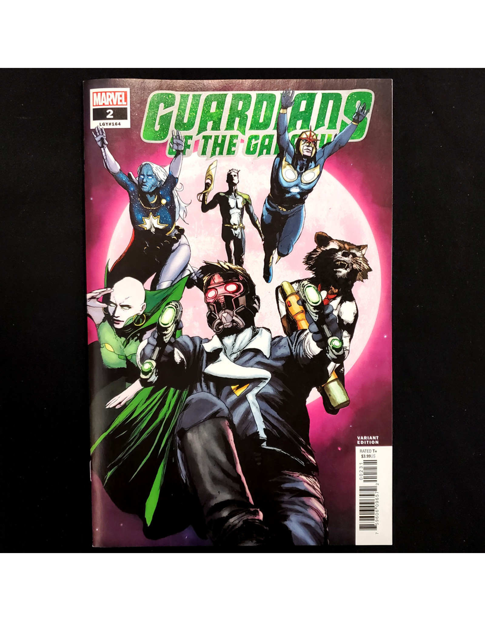 MARVEL COMICS GUARDIANS OF THE GALAXY #2 SORRENTINO VARIANT