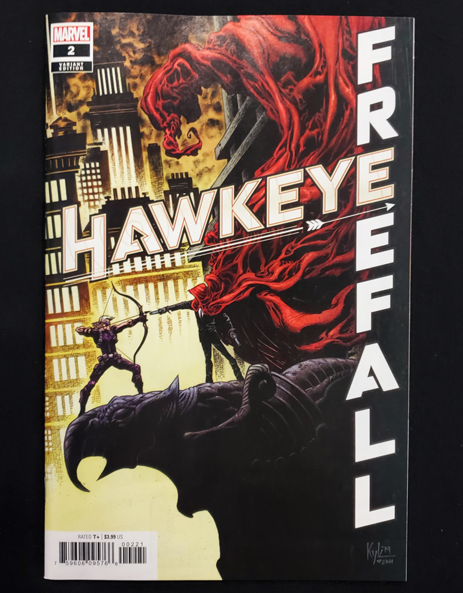 MARVEL COMICS HAWKEYE FREE FALL #2 HOTZ VARIANT
