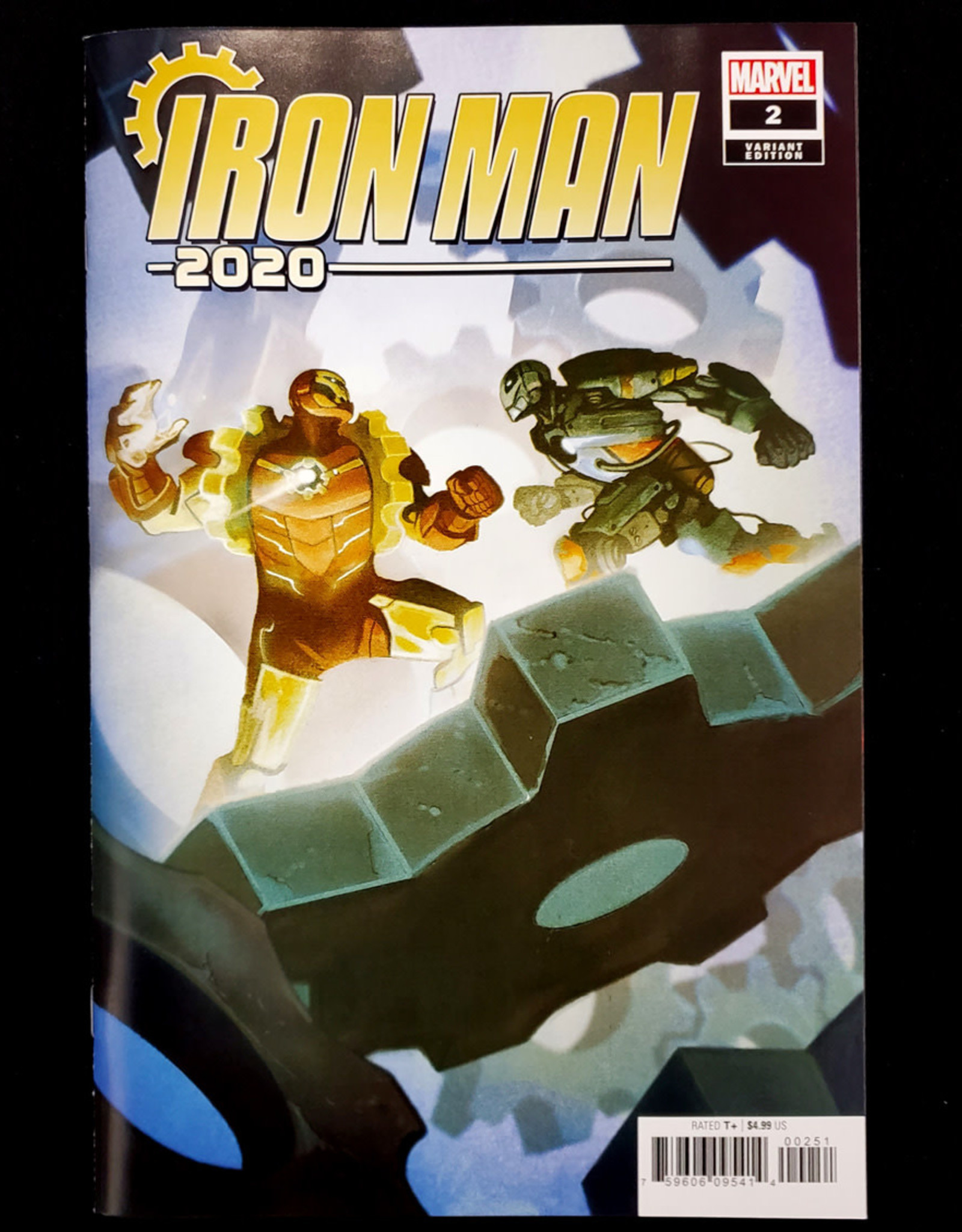 MARVEL COMICS IRON MAN 2020 #2 (OF 6) DEL MUNDO VARIANT
