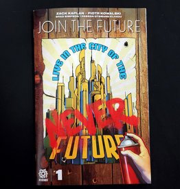 AFTERSHOCK COMICS JOIN THE FUTURE #1 15 COPY PETERSON INCENTIVE VARIANT
