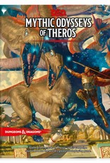 WIZARDS OF THE COAST D&D RPG MYTHIC ODYSSEYS OF THEROS REGULAR COVER PREORDER