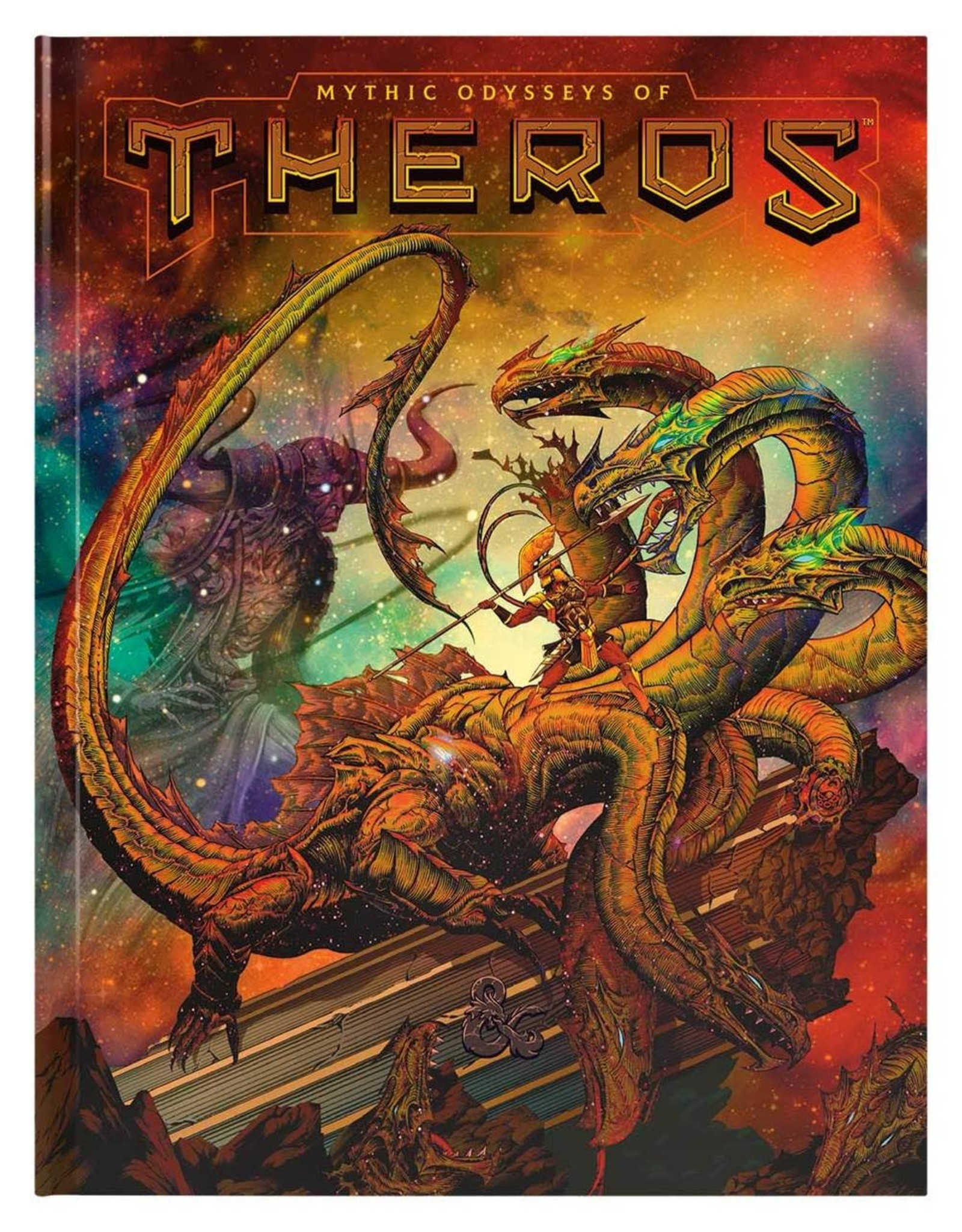 WIZARDS OF THE COAST D&D RPG MYTHIC ODYSSEYS OF THEROS EXCLUSIVE ALTERNATE COVER PREORDER