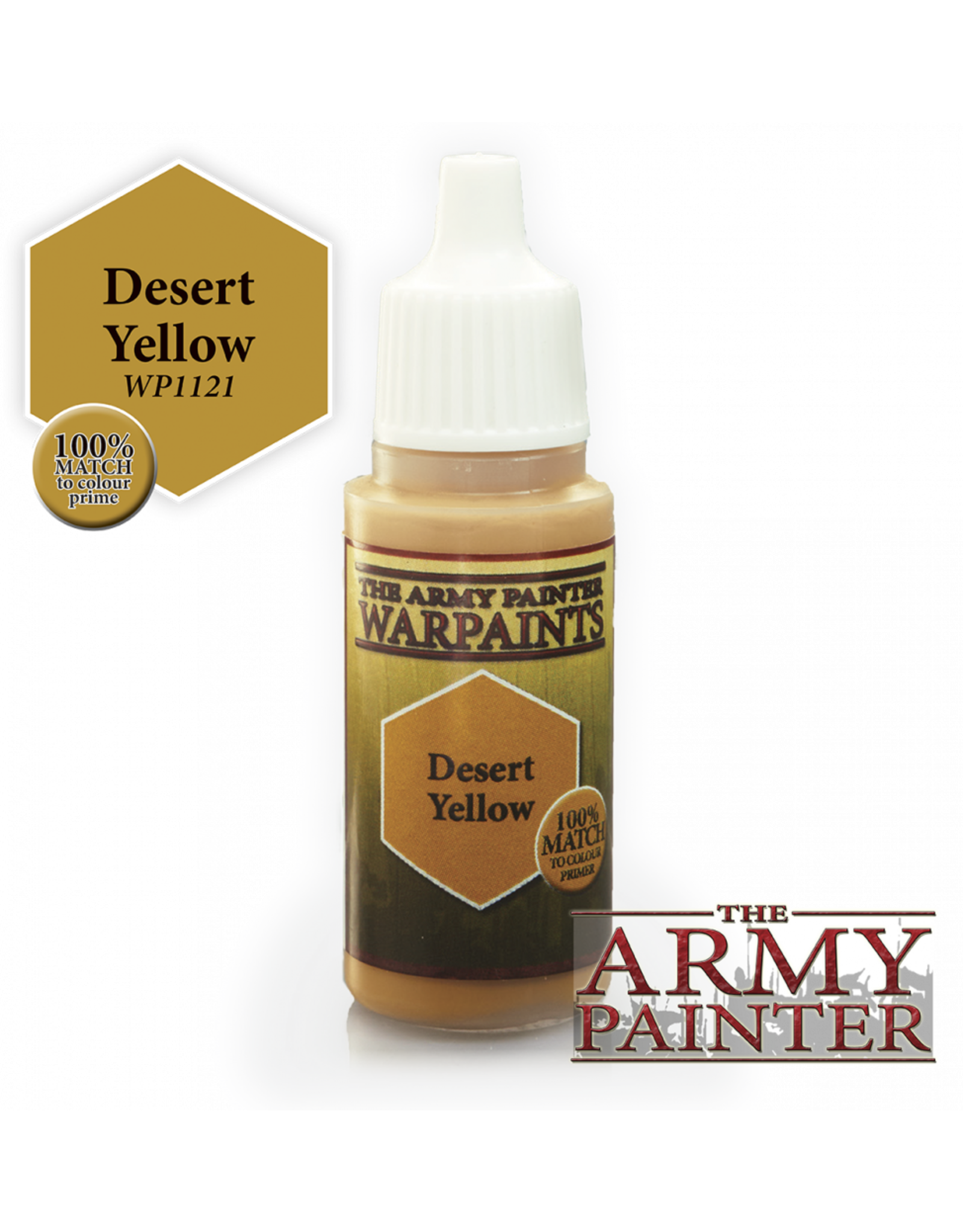 THE ARMY PAINTER ARMY PAINTER WARPAINTS DESERT YELLOW