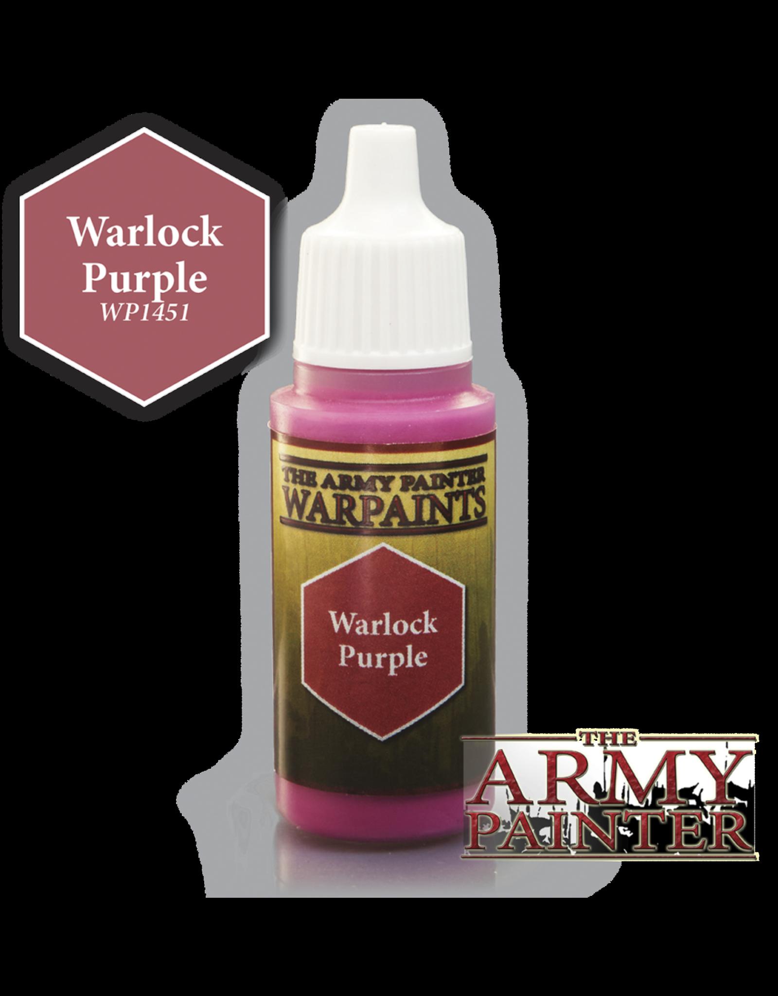 THE ARMY PAINTER ARMY PAINTER WARPAINTS WARLOCK PURPLE