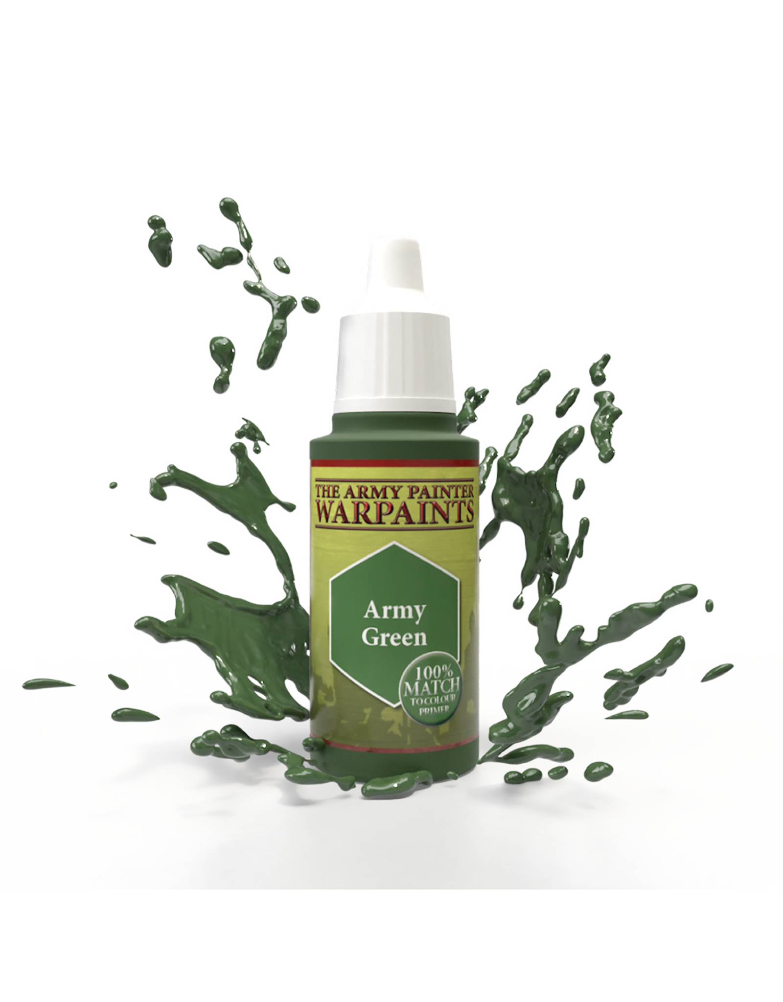 THE ARMY PAINTER ARMY PAINTER WARPAINTS ARMY GREEN