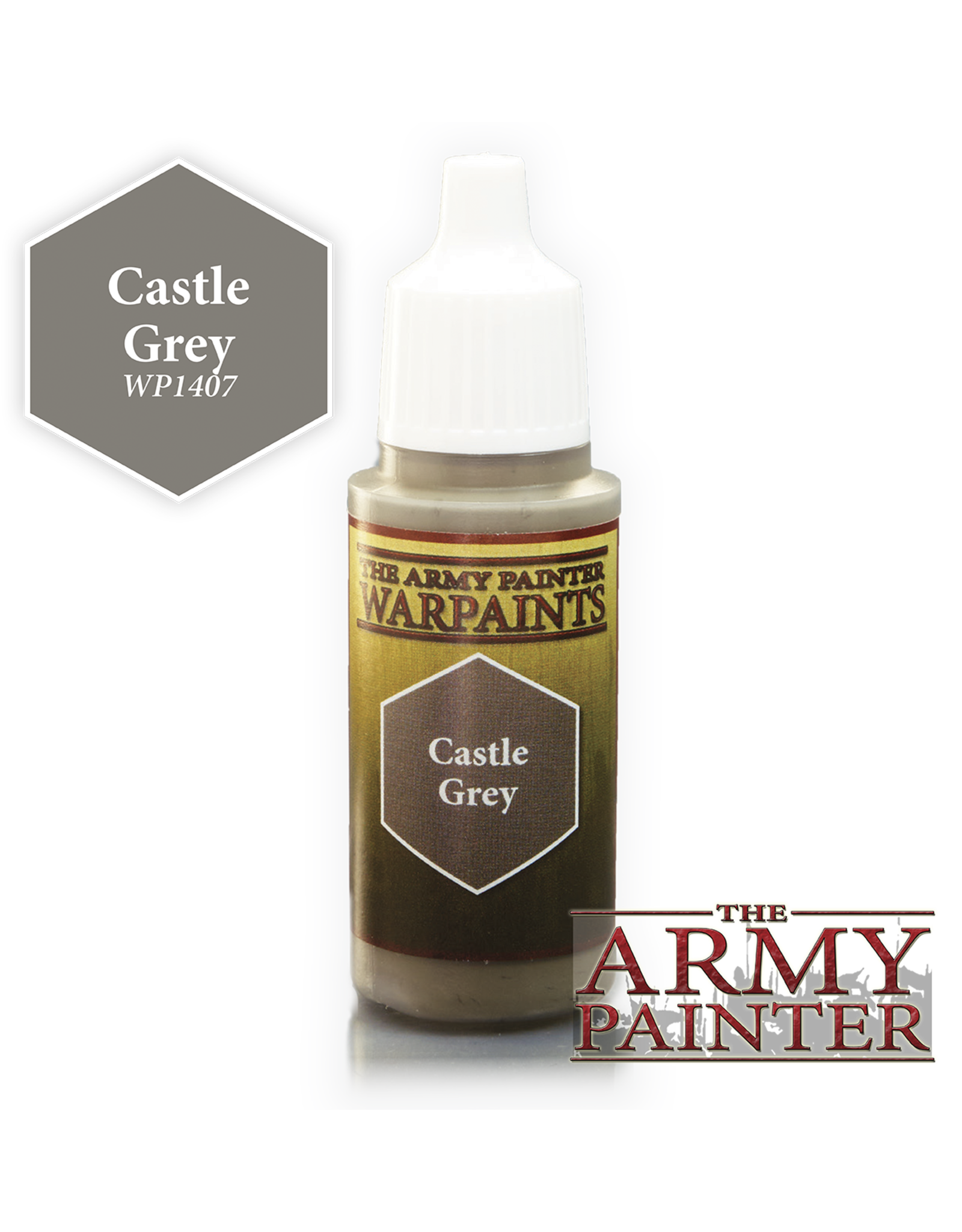 THE ARMY PAINTER ARMY PAINTER WARPAINTS CASTLE GREY