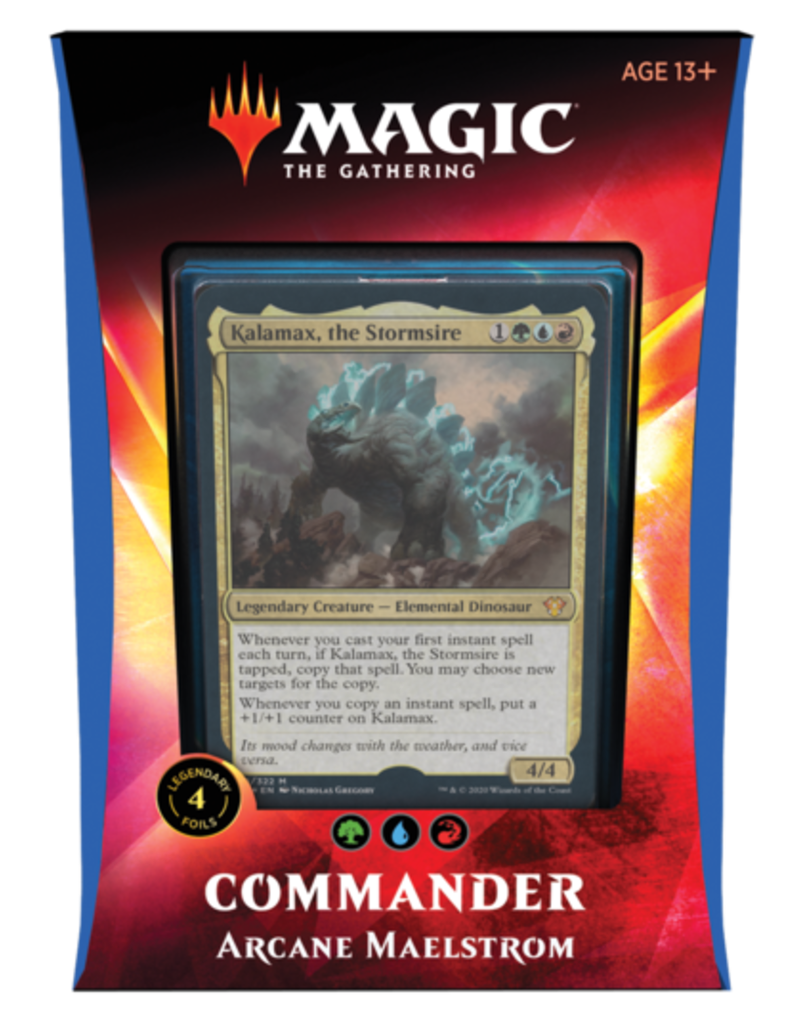 WIZARDS OF THE COAST MTG TCG IKORIA COMMANDER DECK ARCANE MAELSTROM