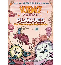 :01 FIRST SECOND SCIENCE COMICS PLAGUES SC GN MICROSCOPIC BATTLEFIELD