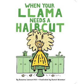 SIMON & SCHUSTER WHEN YOUR LLAMA NEEDS A HAIRCUT BOARD BOOK