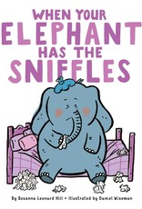 SIMON & SCHUSTER WHEN YOUR ELEPHANT HAS THE SNIFFLES BOARD BOOK