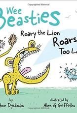 SIMON & SCHUSTER WEE BEASTIES ROARY THE LION ROARS TOO LOUD BOARD BOOK