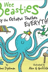SIMON & SCHUSTER WEE BEASTIES TOUCHY THE OCTOPUS TOUCHES EVERYTHING BOARD BOOK