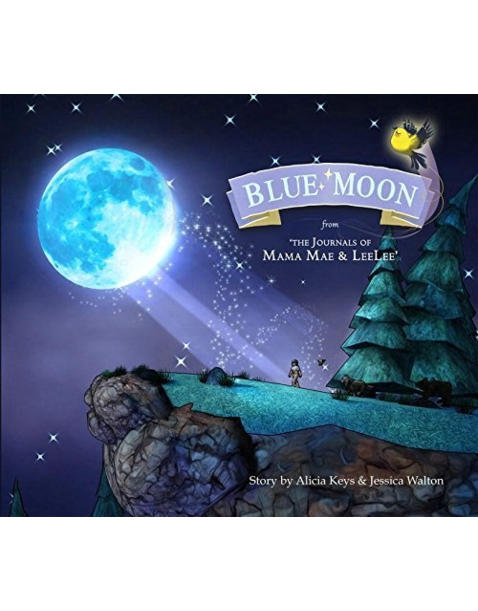 IDW PUBLISHING BLUE MOON FROM JOURNALS OF MAMA MAE AND LEELEE HC