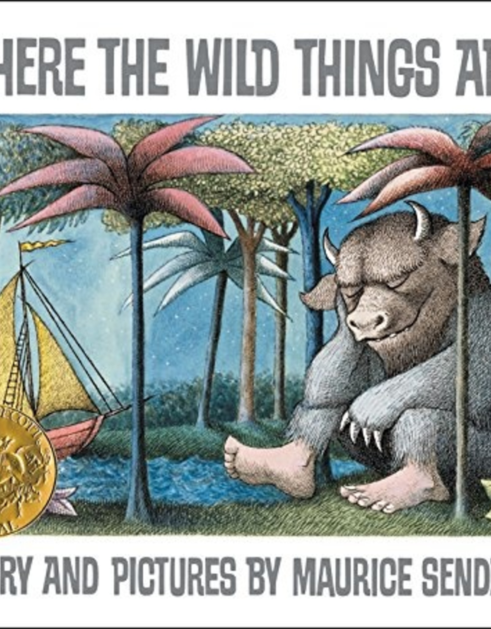 HARPER COLLINS PUBLISHERS WHERE THE WILD THINGS ARE PB