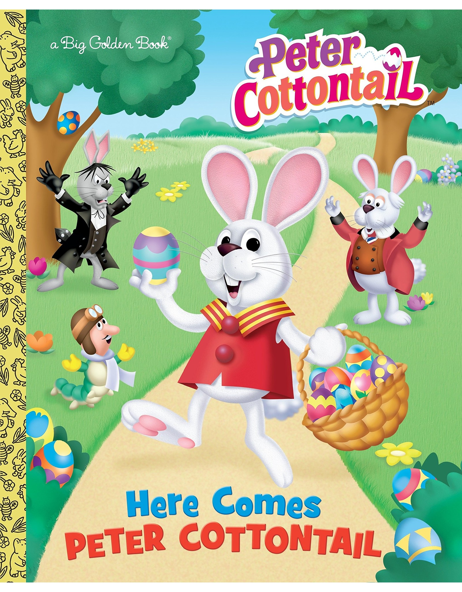 Penguin Random House HERE COMES PETER COTTONTAIL BIG GOLDEN BOOK (PETER COTTONTAIL)