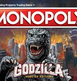 USAOPOLY GODZILLA MONOPOLY MONSTER EDITION