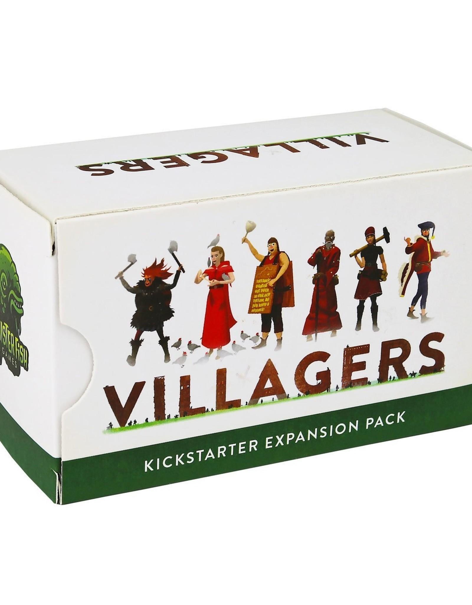 SINISTER FISH GAMES VILLAGERS KICKSTARTER EXPANSION PACK