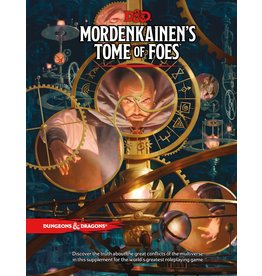 WIZARDS OF THE COAST D&D 5TH EDITION MORDENKAINEN'S TOME OF FOES
