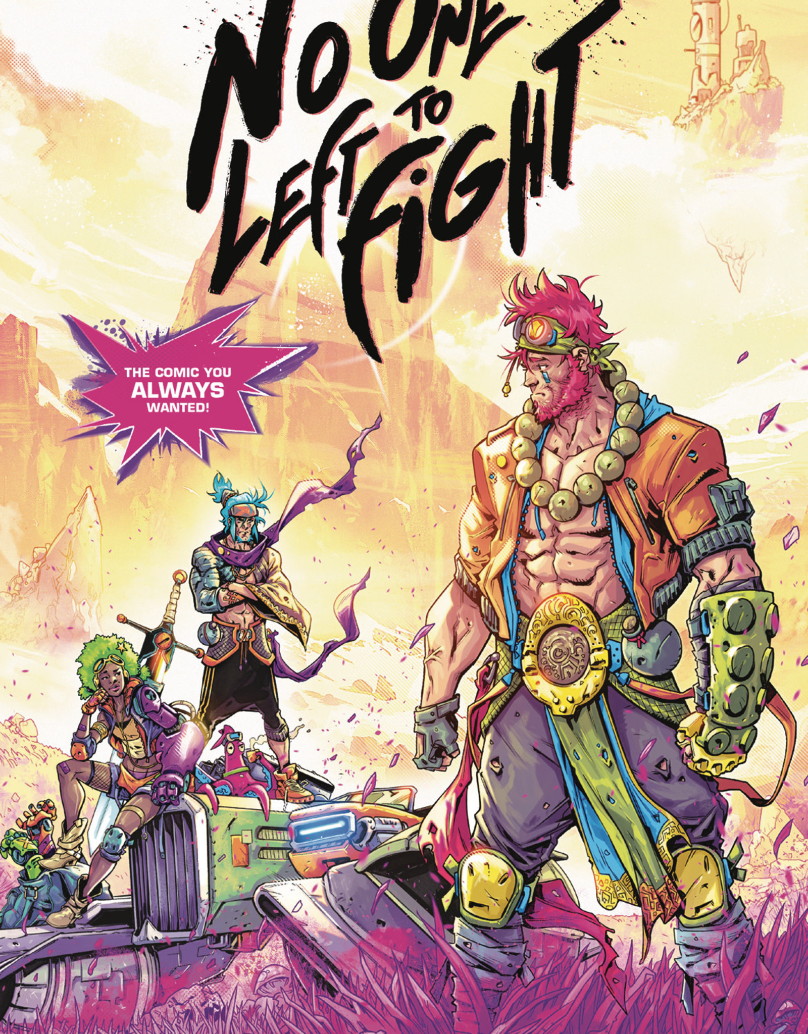 DARK HORSE COMICS NO ONE LEFT TO FIGHT TP