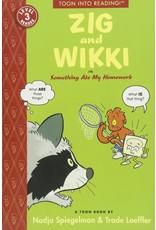 TOON BOOKS ZIG AND WIKKI IN SOMETHING ATE MY HOMEWORK