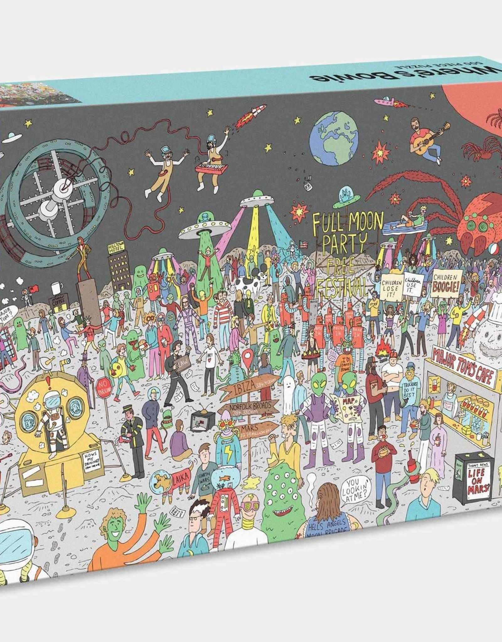 WHERE'S BOWIE 500 PIECE JIGSAW PUZZLE