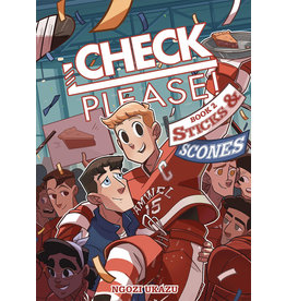 :01 FIRST SECOND CHECK PLEASE HOCKEY GN VOL 02 STICKS & SCONES