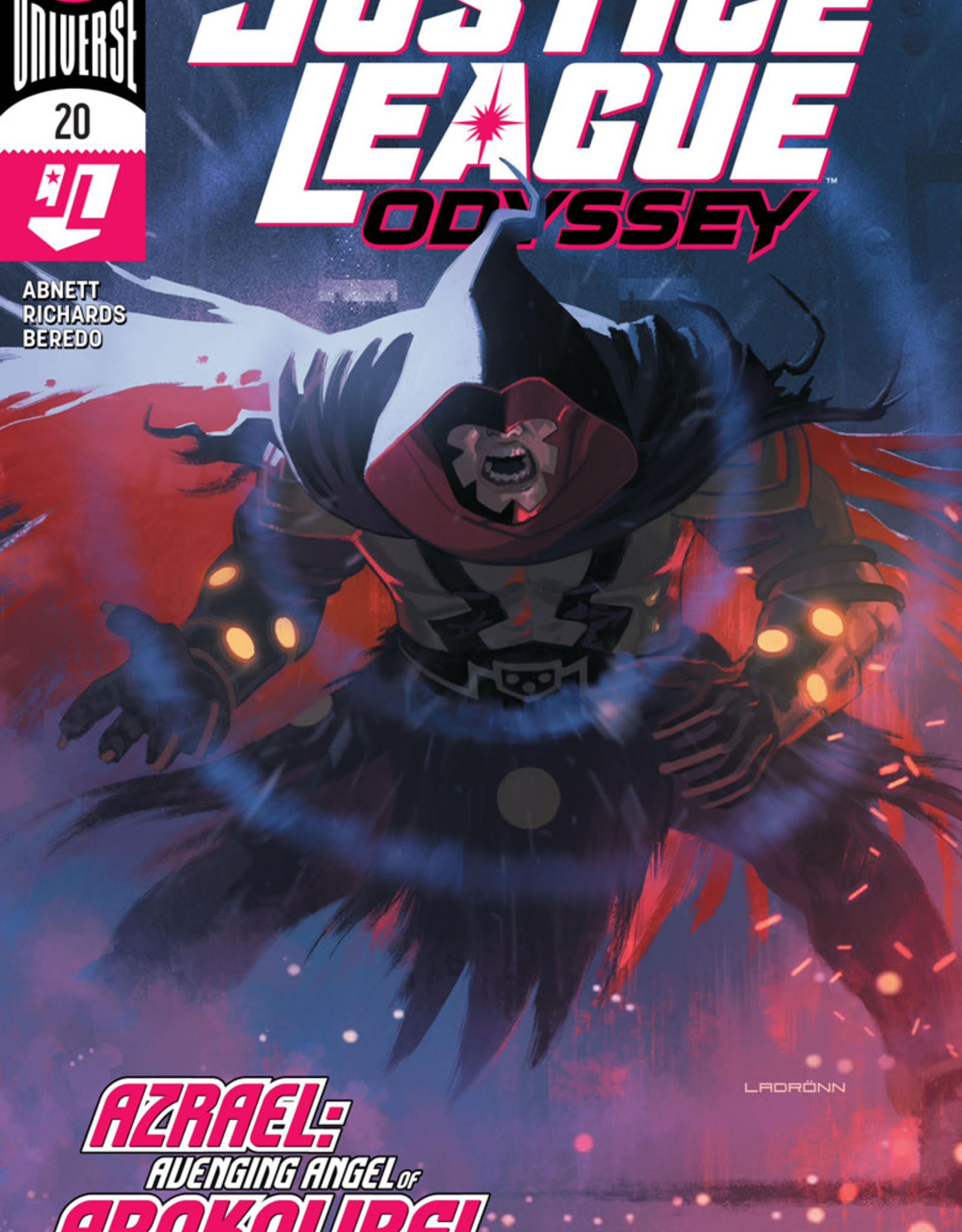 DC COMICS JUSTICE LEAGUE ODYSSEY #20