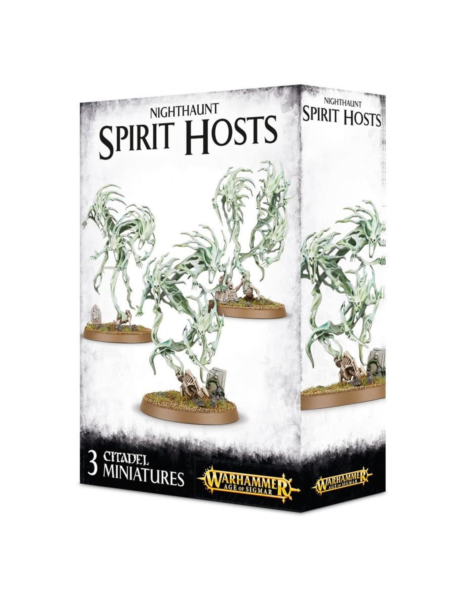 GAMES WORKSHOP WARHAMMER AGE OF SIGMAR - NIGHTHAUNT SPIRIT HOSTS