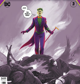 DC COMICS YEAR OF THE VILLAIN HELL ARISEN #3 (OF 4) 3RD PTG