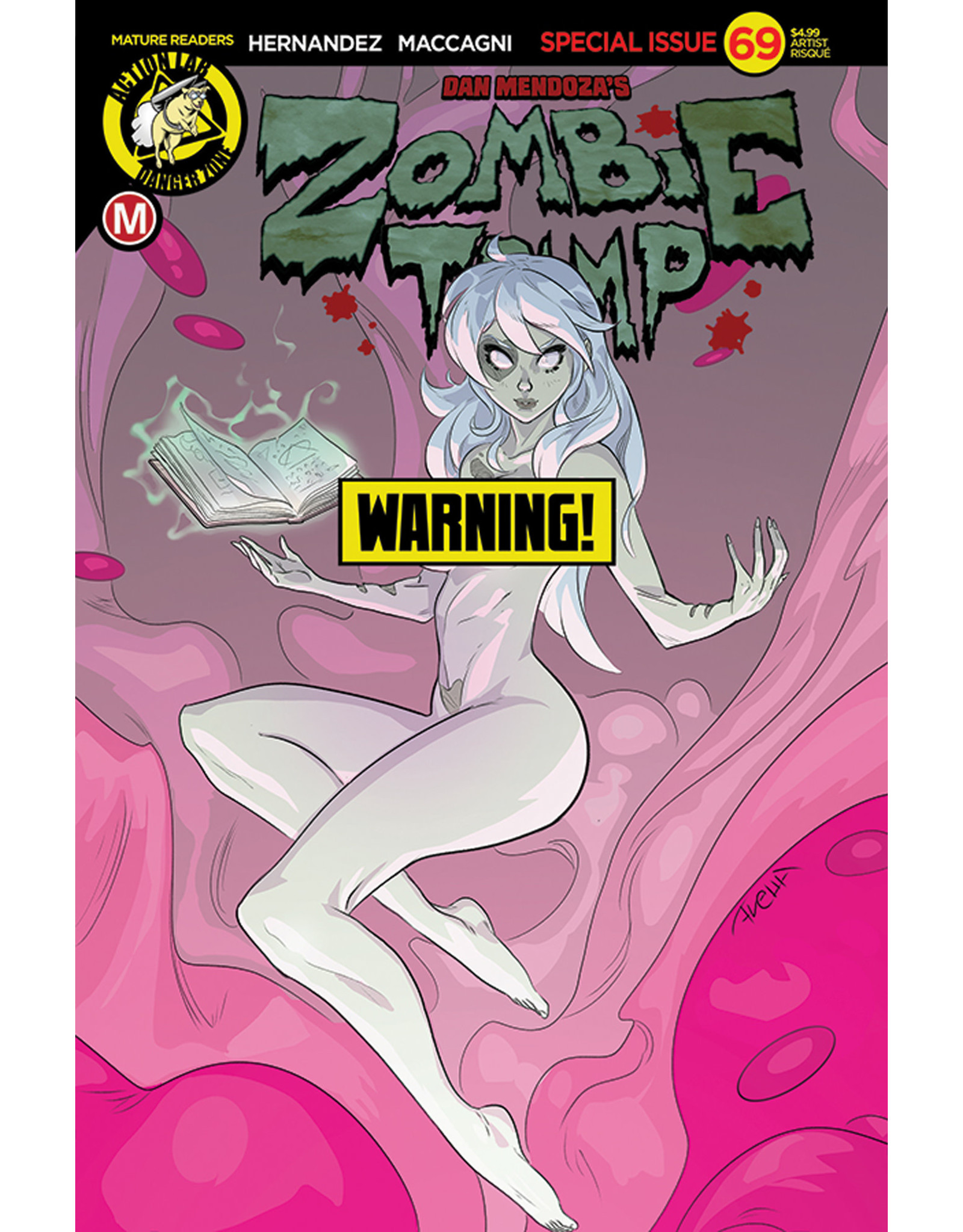 ZOMBIE TRAMP ONGOING #69 CVR F AVELLA RISQUE
