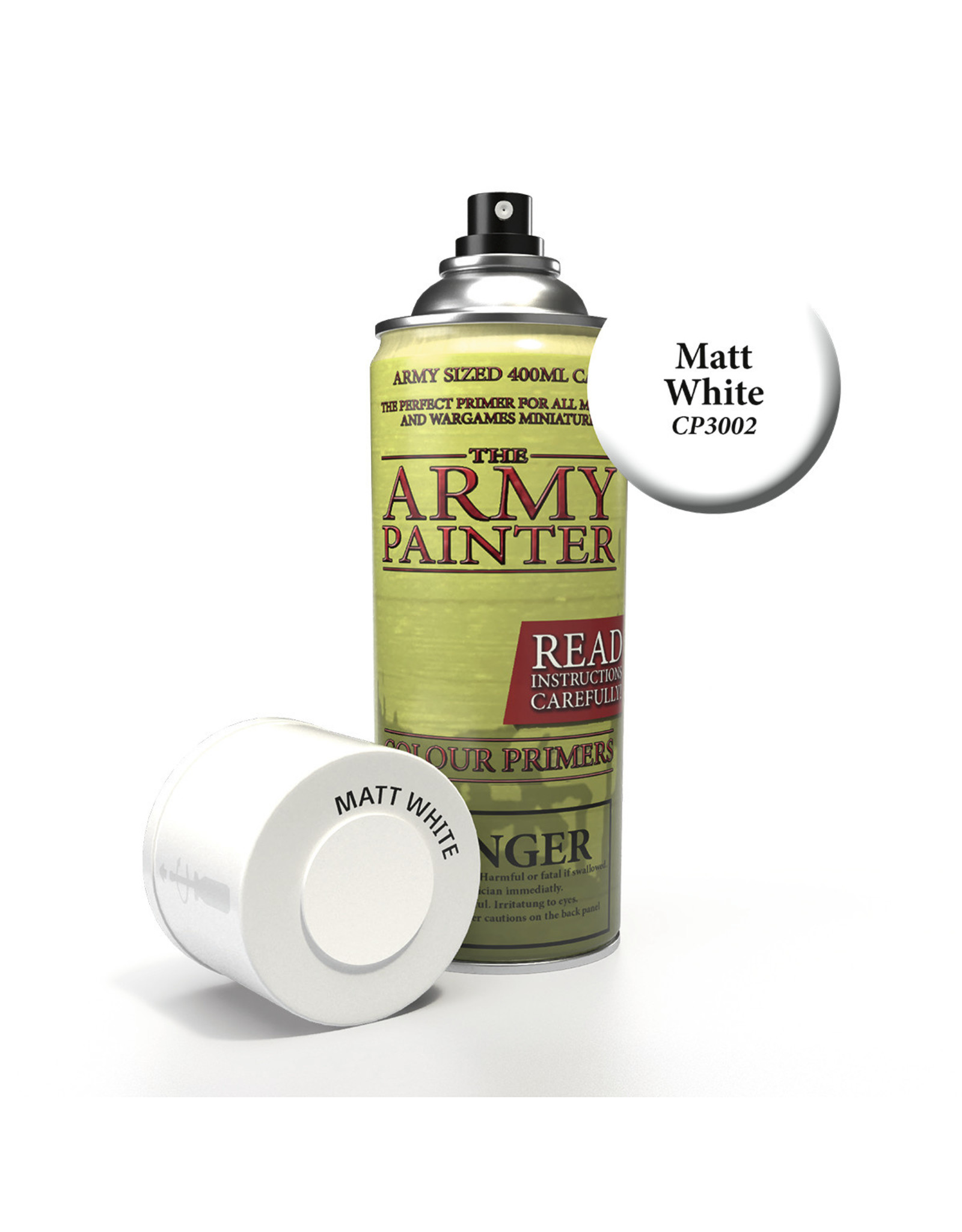 THE ARMY PAINTER ARMY PAINTER BASE PRIMER MATT WHITE