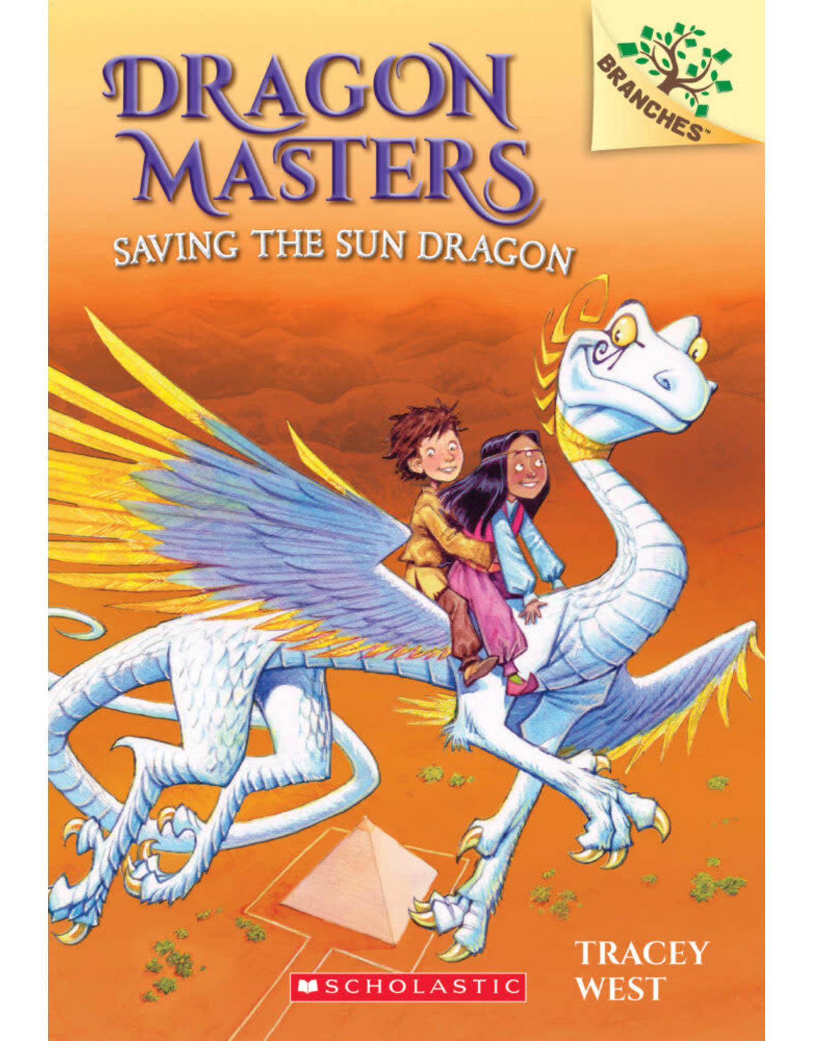 SCHOLASTIC INC. DRAGON MASTERS #2 SAVING THE SUN DRAGON
