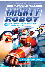 SCHOLASTIC INC. RICKY RICOTTAS MIGHTY ROBOT TP VOL 09 VS THE UNPLEASANT PENGUINS FROM PLUTO
