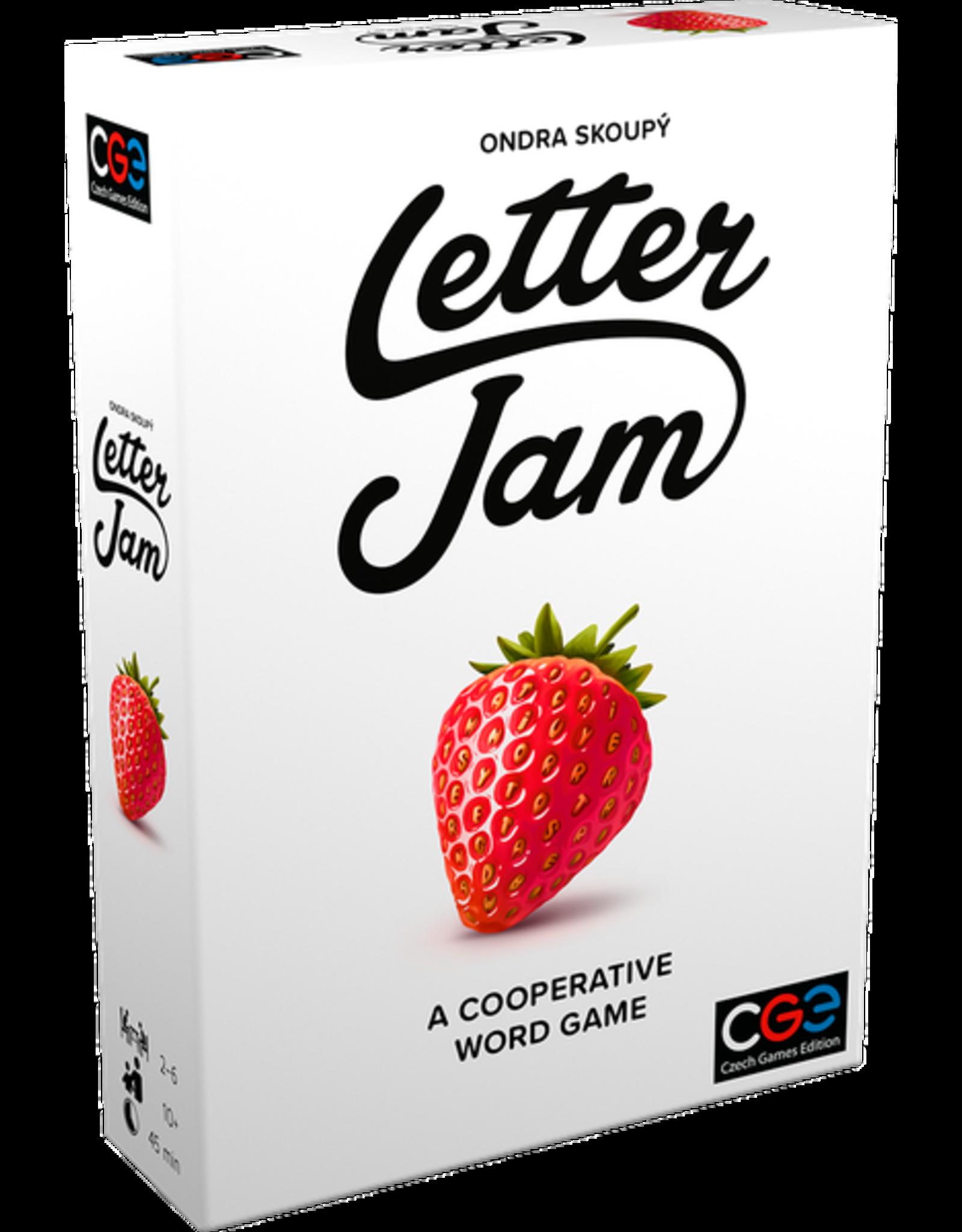 CZECH GAMES EDITION LETTER JAM
