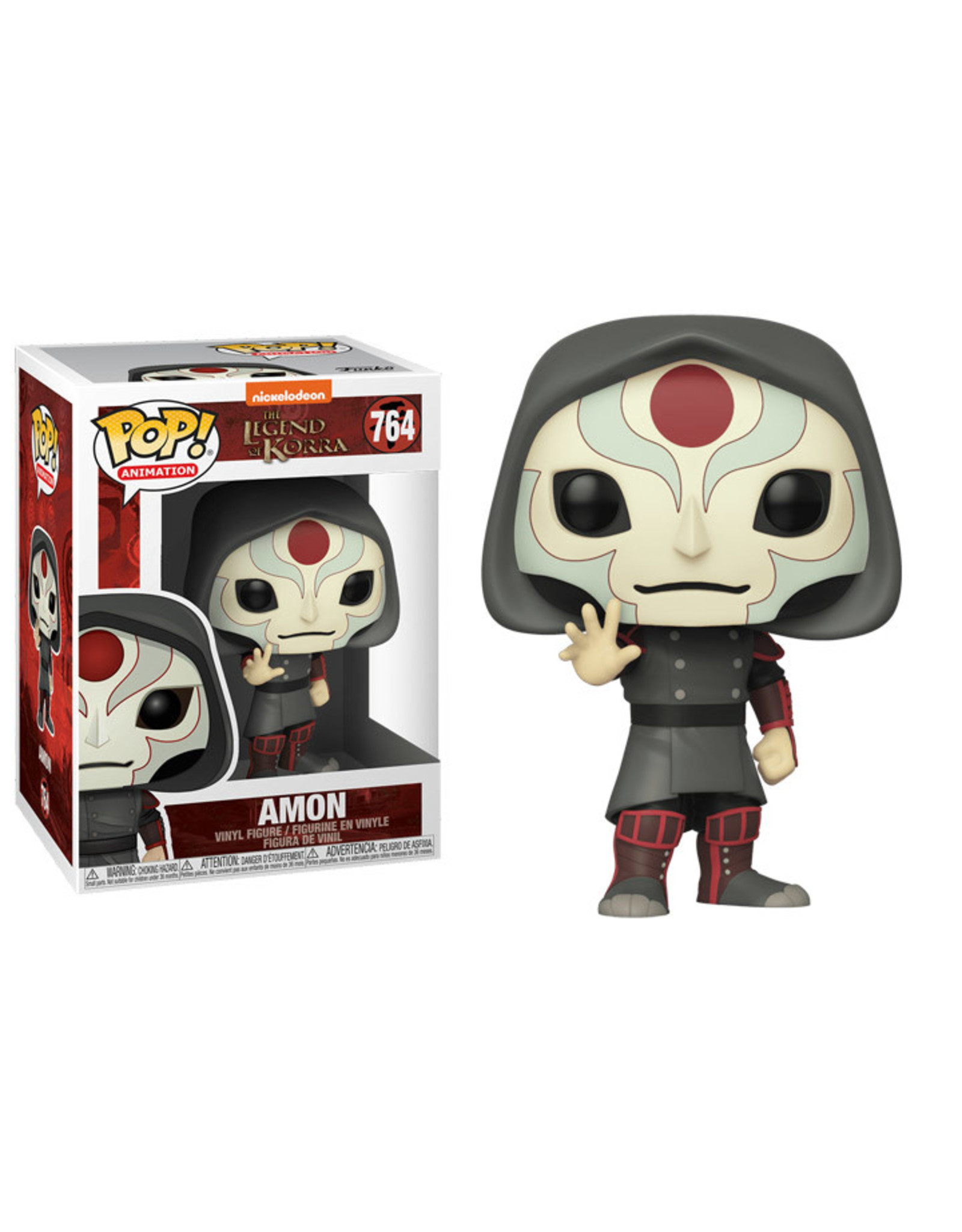 FUNKO POP LEGEND OF KORRA AMON VINYL FIG