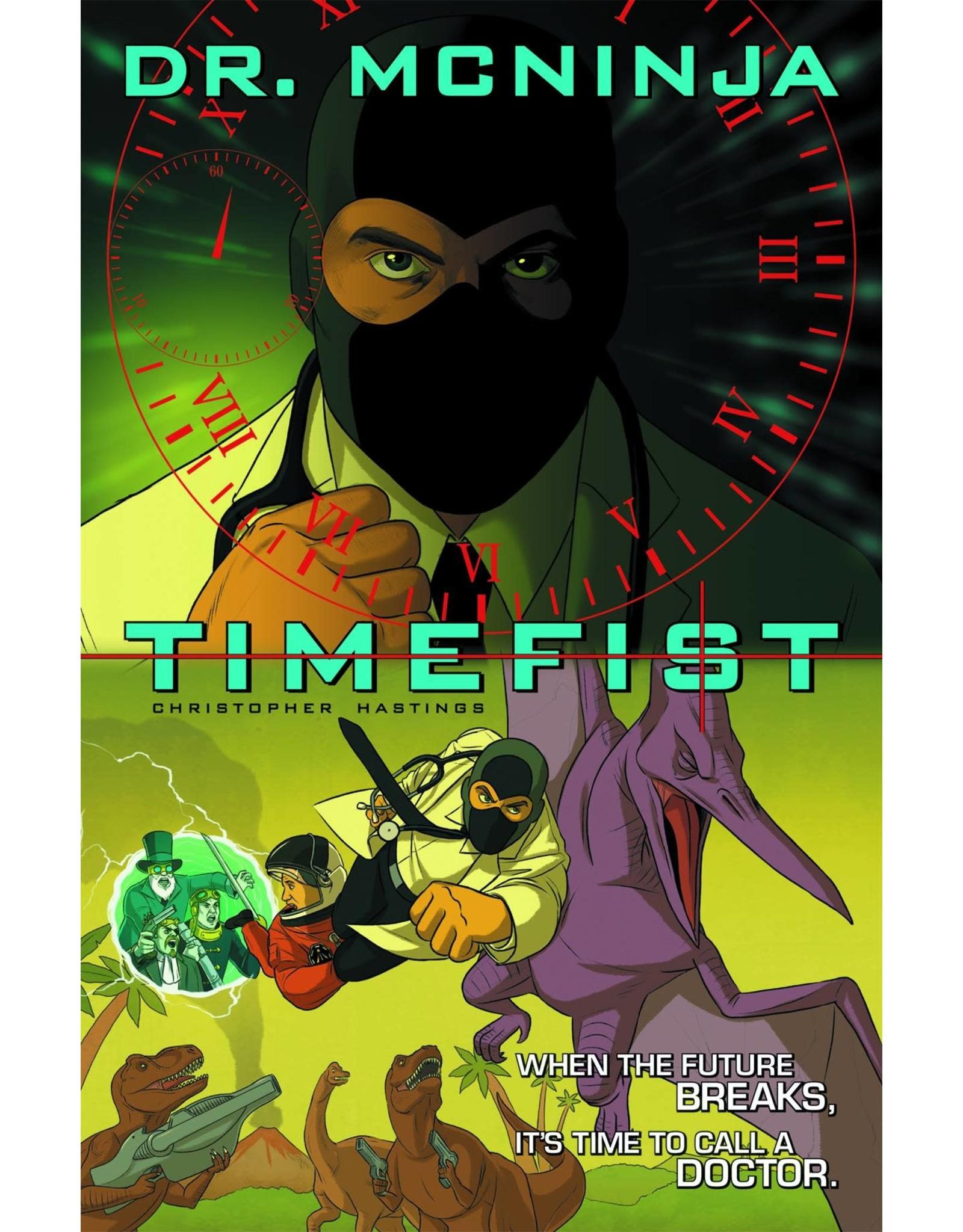 DARK HORSE COMICS ADV OF DR MCNINJA TP VOL 02 TIMEFIST