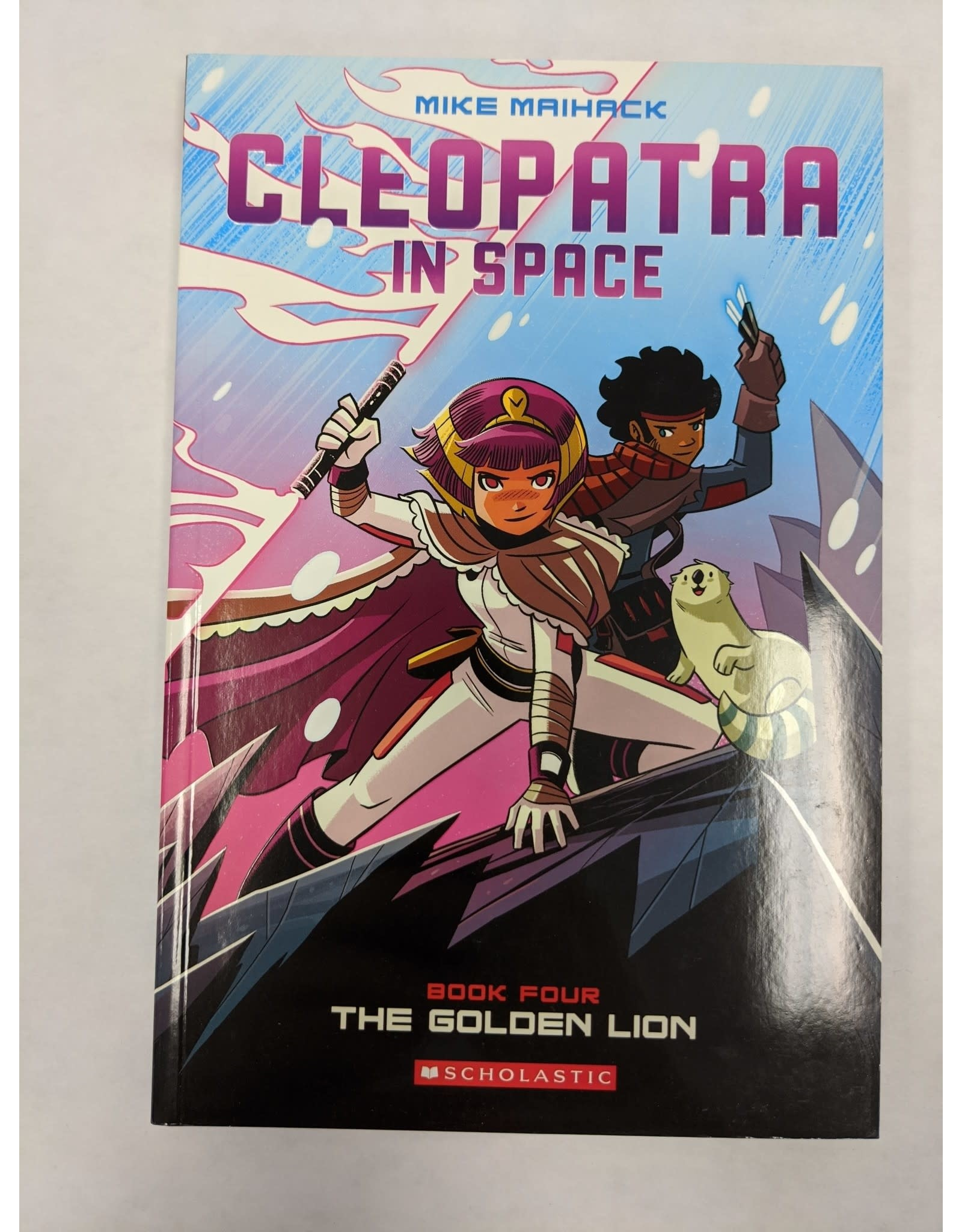 GRAPHIX CLEOPATRA IN SPACE GN VOL 04 GOLDEN LION