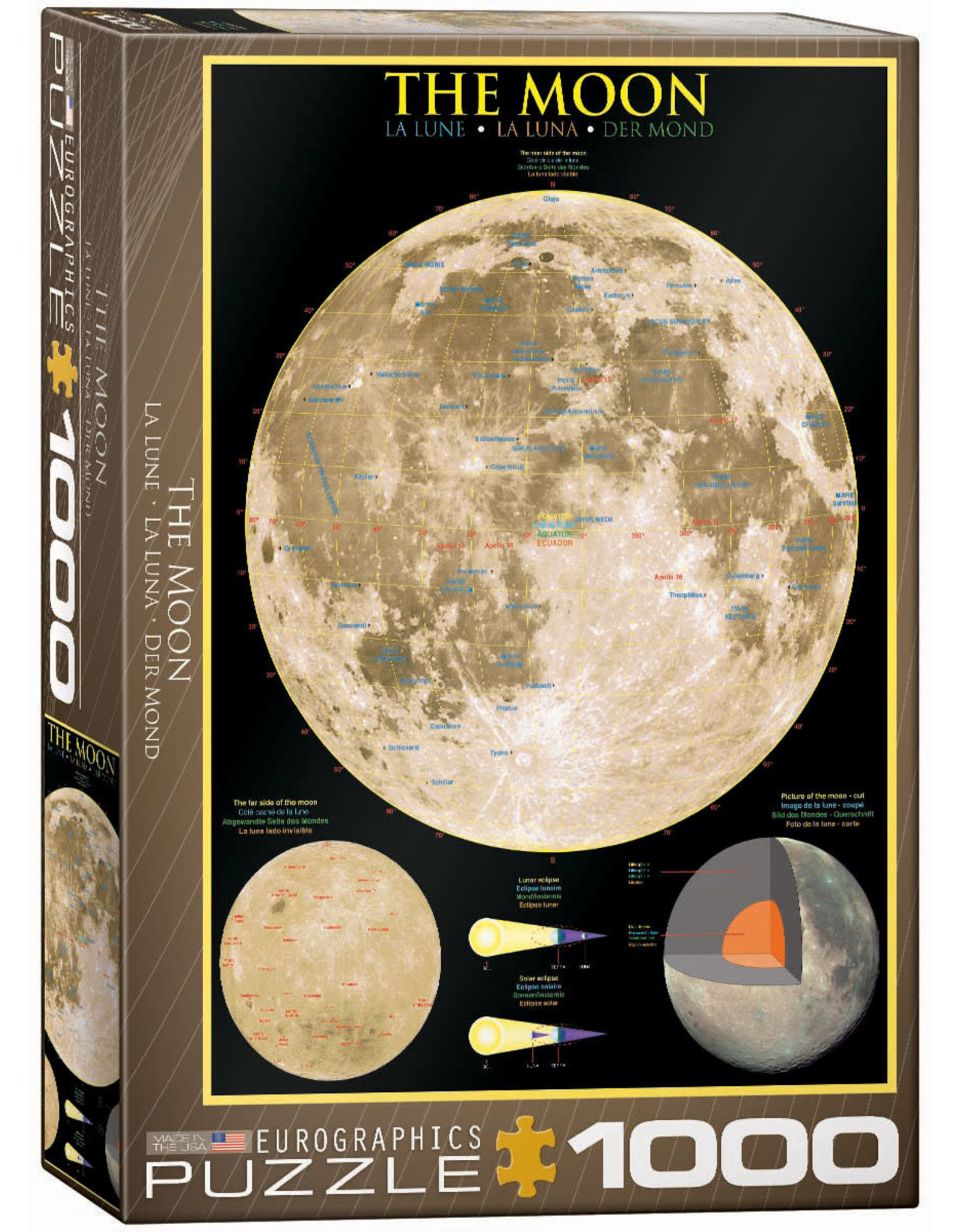 THE MOON 1000 PIECE PUZZLE