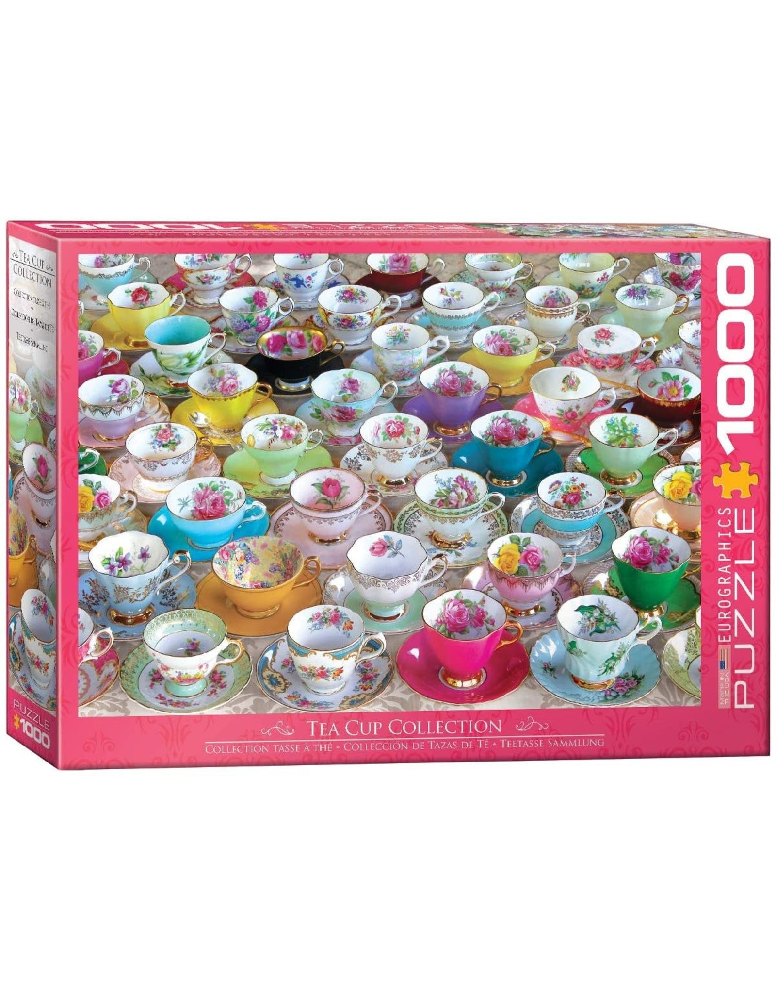 TEA CUP COLLECTION 1000 PIECE PUZZLE