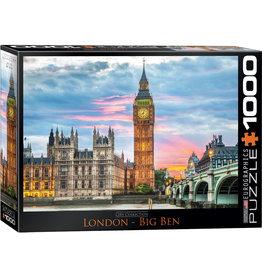 CITY COLLECTION LONDON BIG BEN 1000 PIECE PUZZLE