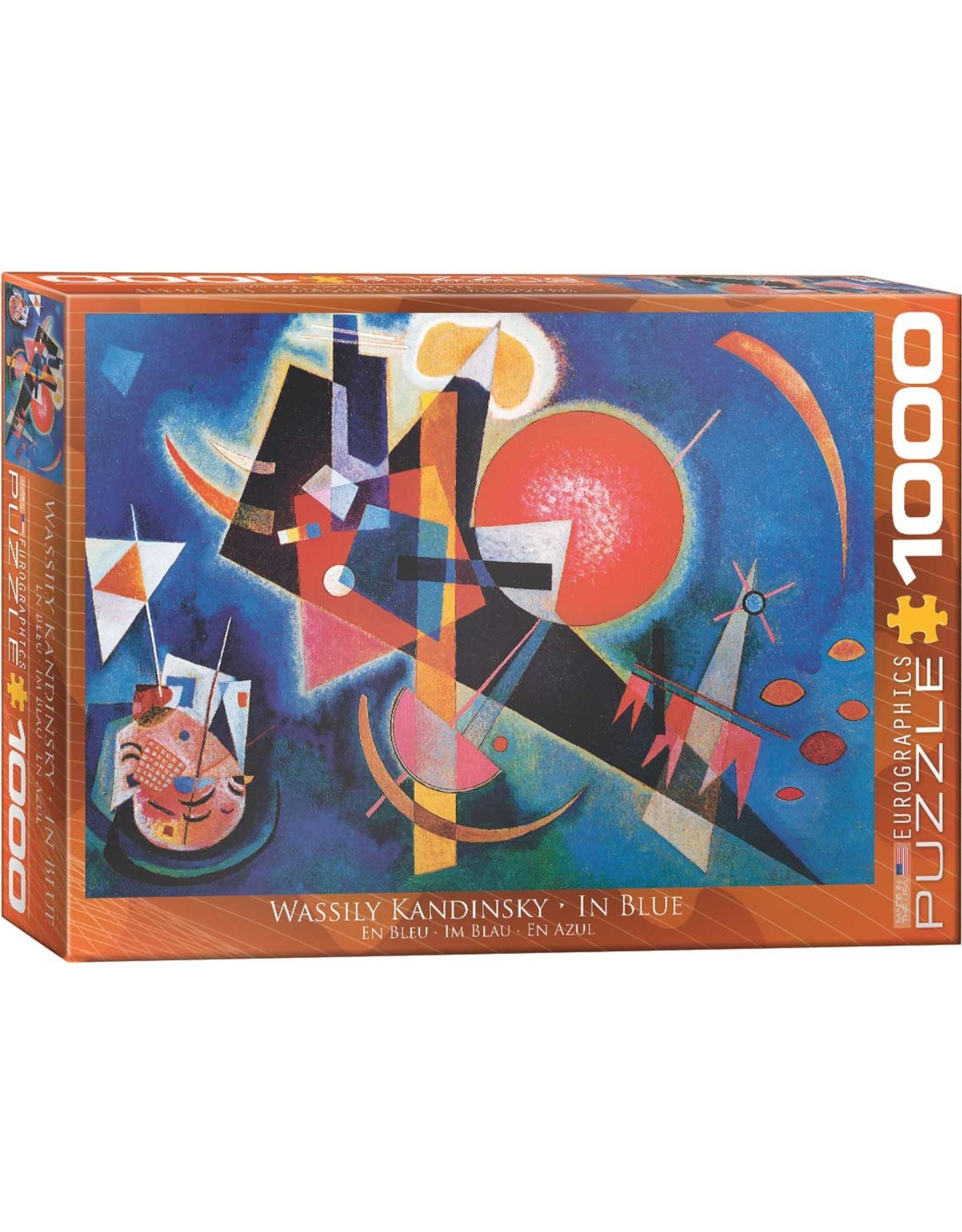 WASSILY KANDINSKY IN BLUE 1000 PIECE PUZZLE